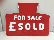 CAR/AUTO FOR SALE  Sign X 5 Sun Visor pricing Units Complete with Number Sets