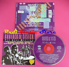 CD Brother & Sister:The Soul Meeting Compilation RAY CHARLES no mc vhs dvd(C37)