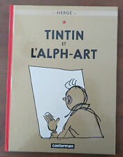 HERGE Tintin et L'Alph-Art Casterman Hardcover VGC 2004 Edition
