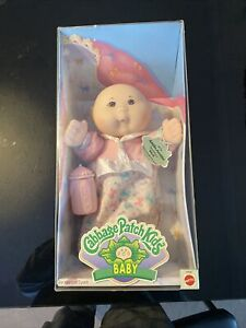 Cabbage Patch Kids Baby Arielle Oct 15 Mattel 14131 Girl Doll & Box