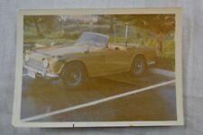Vintage Car Photo Triumph TR5 Sports Car 833