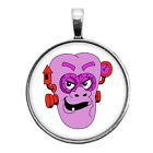 Franken Berry Key Ring Necklace Cufflink Tie Clip Ring Earrings Halloween Cereal