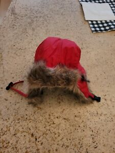 Ralph Lauren Toddler Trapper Hat, Red. LIMITED EDITION