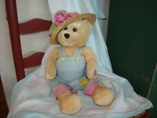 "Chantilly Lane Plush Bear approx 22"" Sings ""Oh What A Beautiful Morning"" works"