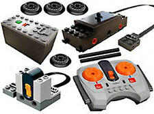 Lego Power Functions TRAIN Set   (remote,receiver,motor,battery,box,AAA,wheels)