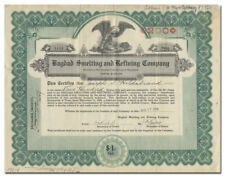 Bagdad Smelting and Refining Company Stock Certificate