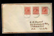 1933 Falkland Islands Airmail Cover to USA