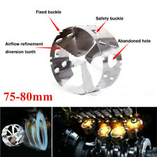 1PC 75-80MM Upgrades Fourth Generation Car Turbo Fuel Gas Saver Oil Accelerator