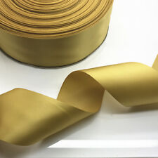 "New 5 10 20 Yards 50mm 2"" Satin Ribbon Multi-Purposes Wedding Party 20 Colors"