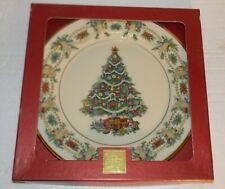 "Lenox Christmas Trees Around The World Plate America 1998 G805 10.75"" dia"