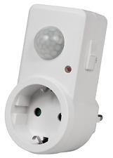 Zwischenstecker mit Bewegungsmelder Steckdose Stecker Adapter Bewegungsschalter