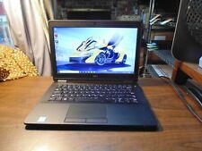 DELL LATITUDE E7270 Ultrabook 2.40GHz i5-6300U 8GB 128GB SSD #5947 WebCam