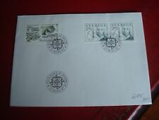 SWEDEN - 1982 EUROPA - FIRST DAY COVER