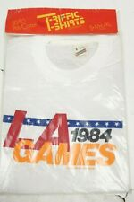 Vintage 1984 LA Los Angeles Olympic Games T-Shirt Men Size Small