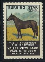 VEGAS - Valley View Horse Farm, Menomonee, WI Promotional Poster Stamp-Read Desc