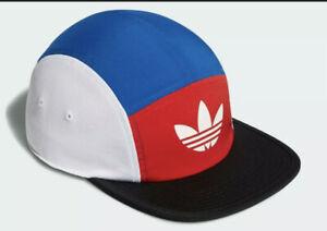 NEW Adidas Originals Blocked 5 Panel Adjustable Strap back Hat