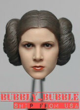 1/6 Princess Leia Head Sculpt STAR WARS For PHICEN Hot Toys Figure SHIP FROM USA