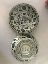 Chinese High Quality Antique Reproduction Ming Copy Plates (2 pcs) #Rcc007