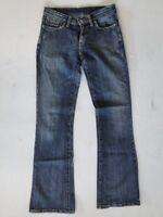 Levis 529 Slim Damen Jeans Hose Blau Stonewashed W27 L32