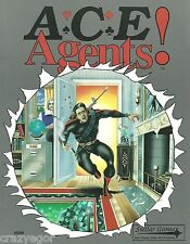 ACE Agents - Adventure game of Spies, Espionage & Intrigue  Core Rules FS