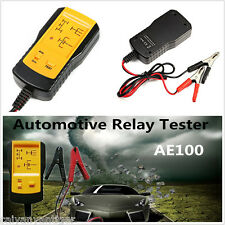 Universal AE100 Electronic Automotive Relay Tester Car Battery Checker Test Lead