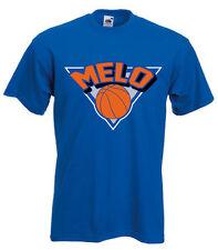 "Carmelo Anthony New York Knicks ""Melo Logo"" T-shirt"