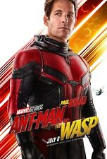 Ant-Man and the Wasp Movie Poster (24x36) - Paul Rudd, Evangeline Lilly v3