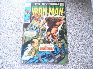 THE INVINCIBLE IRON MAN # 24   MARVEL COMICS