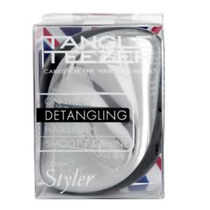 Tangle Teezer Compact Styler Silver Rush Detangling Hairbrush