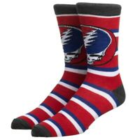 Grateful Dead Socks Adult Dancing Bears And Steal Your Face 6 Pack Ankle Socks