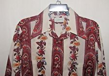 Vintage Dutchmaid Long Sleeve Button Up Shirt Size 15 1/2