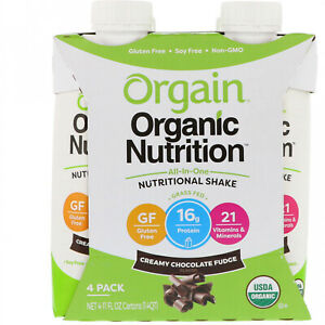 Orgain, Organic Nutrition, All In One Nutritional Shake, Creamy Chocolate 4 11