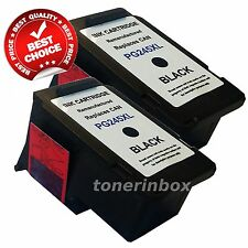 2 PACK PG 245 XL Black Ink Cartridges For Canon PIXMA MG2920 MG2922 MG2924 MX492