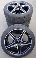 4 Mercedes-Benz AMG Winterräder C-Klasse W205 C450 AMG A205 C43 225/45 R18 RDKS