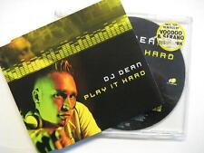 """DJ Dean """"Play It Hard"""" - CD MAXI"""
