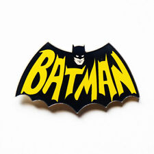 Classic Batman Acrylic Pin Badge - Cartoon Comic Book Hero Badge