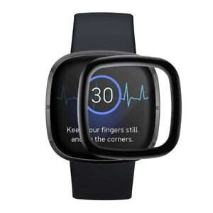 For Fitbit Versa 3 Full 3D Cover Tempered Screen Protector