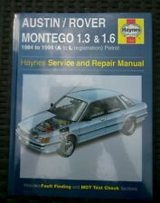 Austin rover montego New Haynes workshop manual petrol 1984-1994 1.3 & 1.6