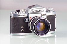 schöne Klassische MIRANDA Sensomat + Auto MIRANDA 1.8 50mm clad gemacht in Japan