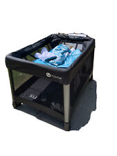 New listing 4 Moms Portable Crib With Infant Bassinet