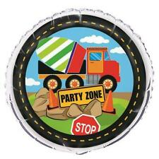 Construction Truck Party Decorations Foil Balloon 45cm Birthday Supplies 52157