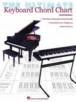 The Ultimate Keyboard Chord Chart - Piano NEW 000220016