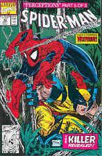 Spiderman # 12 (Todd McFarlane, Guest: Wolverine) (Estados Unidos, 1991)