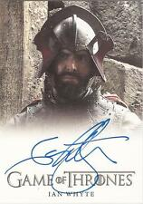 """Game of Thrones Season 3 - Ian Whyte """"Gregor Clegane"""" Autograph Card"""