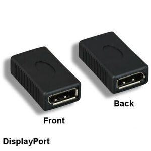 Kentek Displayport DP Female to Female Gender changer Extension Adapter Coupler