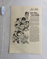 Bob Feller MLB Cleveland Indians Signed Autographed 5x7 1951 Wynn Lemon Garcia