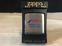 Collectible ZIPPO Tape Measure Jetglas Water Heater Brudin Inc. USA In Case