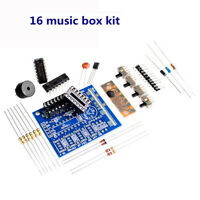 16-Tone Board Components Zubehör Elektronische Teile DIY Kits 16 Music Box