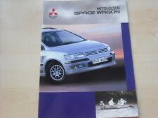 52719) Mitsubishi Space Wagon Prospekt 09/2000