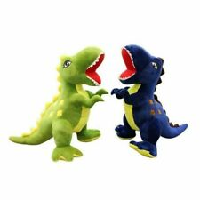 Giant Large Dinosaurs Rex blue Plush Xmas Toys Kids Soft Cuddly Stuffed Animals